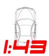 1:43 Alfa Romeo Scale Models