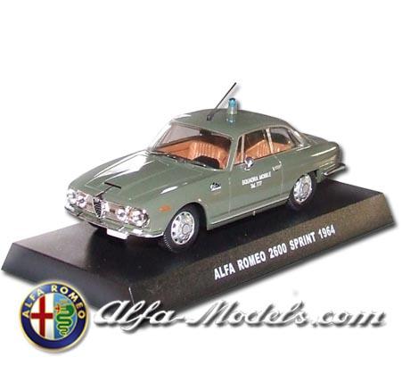 Alfa Romeo 2600 Sprint Polizia