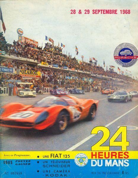 Le Mans 1968 poster