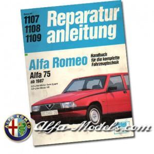 Alfa 75 Reparaturanleitung