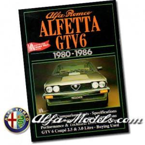 Alfa GTV6 Brooklands Road Test Book