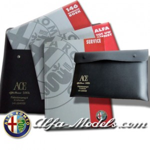 Alfa Romeo 146 Owners Manual SET