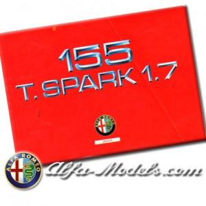 Alfa Romeo 155 1.7 TS owners manual supplement