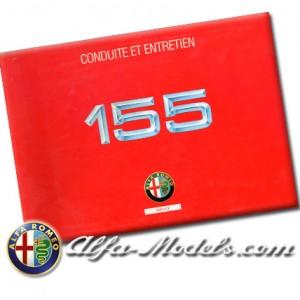 Alfa Romeo 155 Owners Manual 1996