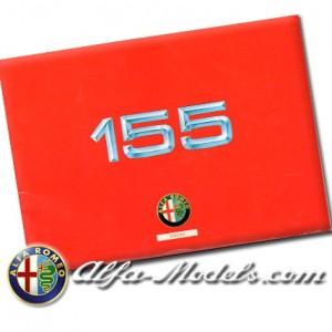 Alfa Romeo 155 Owners Manual Supplement