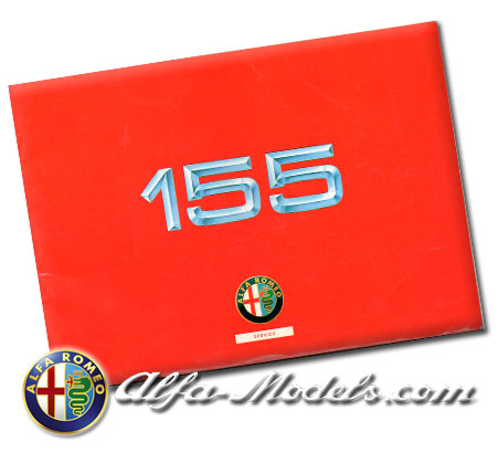 Alfa Romeo 155 Owners Manual Supplement