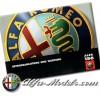 Alfa Romeo 156 Owners Manual 1998