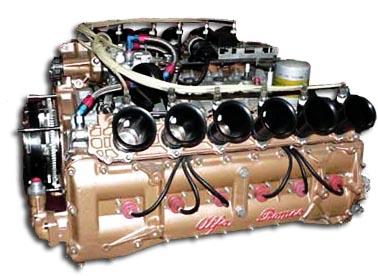 Alfa Rromeo 115 12 engine