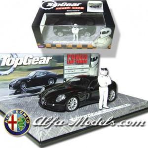 Alfa Romeo 8C Competizione with the (old) Stig