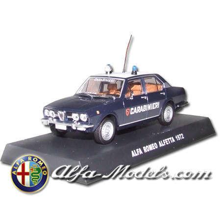 Alfa Romeo Alfetta Carabinieri