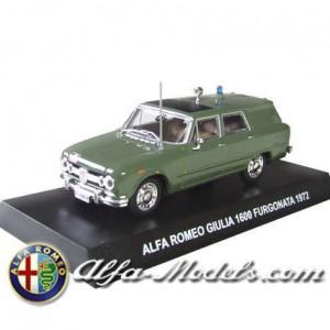 Alfa Romeo Giulia Furgonata Polizia
