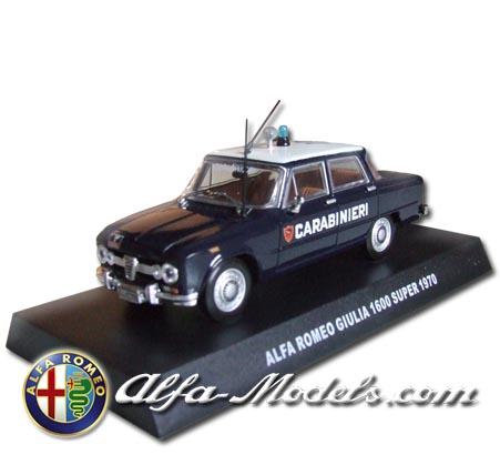 Alfa Romeo Giulia Super 1600 Carabinieri