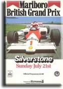F 1 Silverstone 1985