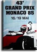 F 1 Monaco 1985